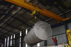 Tanque de aço Inoxidável